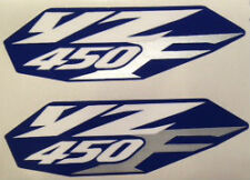 YAMAHA YZ450 YZ450F SIDE PANEL REAR MUDGUARD DECALS
