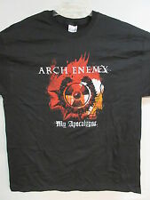 NEW - ARCH ENEMY MY APOCALYPSE BAND / CONCERT / MUSIC T-SHIRT EXTRA LARGE