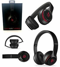 Genuine Beats Solo 2 By Dr Dre Wireless On Ear Headband Headphones Headset Black