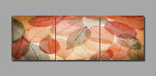 3 PARTS HUGE ABSTRACT MODERN WALL DECOR ART OIL PAINTING ON CANVAS (No Frame) 15