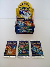 Pokemon Base Set First 1st Edition Spanish Booster Pack New and Sealed