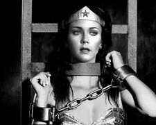 WONDER WOMAN Shackled LYNDA CARTER 8X10 PHOTO #1617