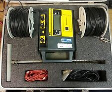 Ideal 61-7883 Megger Earth Resistance Tester Case & Lead Kit Calibrated Jan 2016