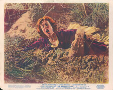 Hound of the Baskervilles Hammer horror original lobby card woman in quicksand