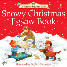 Farmyard Tales Snowy Christmas Jigsaw Book by Heather Amery (Hardback, 2004)