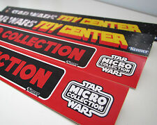 CUSTOM STAR WARS VINTAGE SHELF TALKER SET SW - TOY CENTER & MICRO COLLECTION
