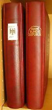 NO12) 40 Jahre Bundesrepublik in 2 Lindner Alben mit 5 Silbermünzen 133 Seiten