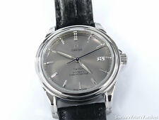 Omega DE VILLE data 38 mm Quadrante Argento/Grigio Co-Assiale cronometro 4831.40.00