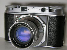 Rare Vintage Voigtlander Prominent + Excellent Ultron 2/50 Germany
