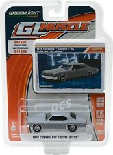 GREENLIGHT MUSCLE 1970 Chevy Chevelle SS - Primer Grey 1/64 DIECAST CAR 13170-C