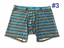 "*NEW Under Armour Boxerjock Boxer Briefs 6"" Underwear Men's Multi-Color M L XL"