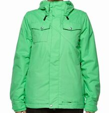 VOLCOM Women's SHORE Insulated Jacket - GRN - Large - NWT - Reg $400