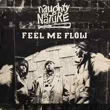 "NAUGHTY BY NATURE ‎- Feel Me Flow (12"") (G-VG/G+)"