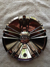 Dakar Chrome Wheel Center Cap. Part#CAP643L190