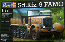 SD.KFZ. 9 FAMO IN SCALA 1/72 REVELL KIT 3141