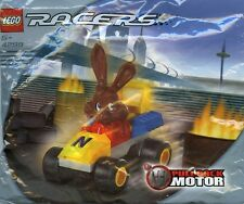 LEGO 4299 - RACERS - Nesquick Rabbit Racer - Poly Bag Set - NEW