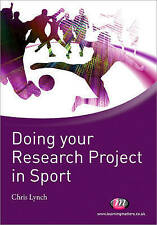 Doing your Research Project in Sport (Active Learning in Sport Series)-ExLibrary