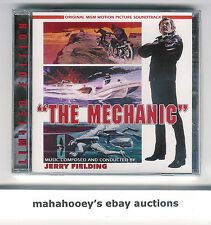 The Mechanic (1972) Jerry Fielding SOLD OUT Ltd. Ed. 1,200 OOP CD Soundtrack NEW