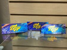 Trip2 King Size Clear See Through Rolling Papers X 3 + 1 Glass Sexy Tip! Hot