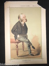 William Henry Smith (W.H.) Newspapers: Original 1872 Victorian Vanity Fair Print