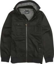 Nixon Captain Cotton II Jacket (S) Black S1628000-02