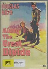 ALONG THE GREAT DIVIDE STARS KIRK DOUGLAS AND VIRGINIA MAYO NEW ALL REGION DVD