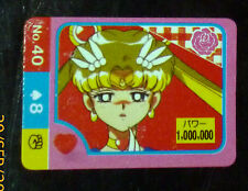 SAILOR MOON MINI CARD CARDDASS CARTE N° 40 SAILORMOON REGULAR INTROUVABLE **