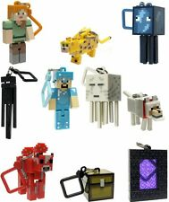"Minecraft Series 2 Hangers 3"" Keyring Bag Clip 3D Vouge Keychain Toy 10 pcs/Set"