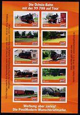 Moderne Privatpost Post Modern Zug Bahn Die Öchsle-Bahn