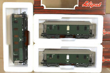 LILIPUT 81202 81702 81903 RAKE of 3 DB 2nd CLASS LOCAL PASSENGER COACH SET