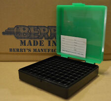9mm / 380 - 100 round ammo case / box (ZOMBIE COLOR) Berrys mfg. 9 mm BRAND NEW