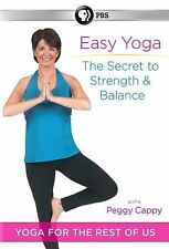 Peggy Cappy: Easy Yoga - The Secret to Strength and Balance (DVD, 2014)