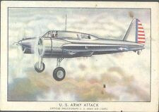Brown & Williamson - Modern American Airplanes, Series B - 21 - US Army Attack