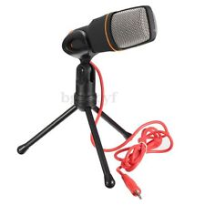 Studio Microphone MIC +Tripod Stand for Laptop PC Singing Sound Recording Gaming