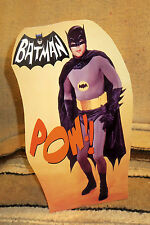 "1960's Batman Adam West Figure Tabletop Display Standee 10.5"" Tall"