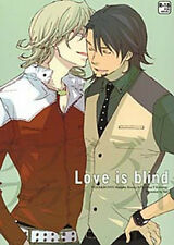 *TIGER & BUNNY YAOI Doujinshi ( Barnaby x Kotetsu ) Love is blind, hac NEW!!
