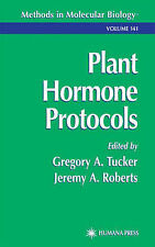 Plant Hormone Protocols (Methods in Molecular Biology), , Very Good Book