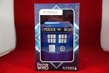"""6.5"""" Doctor Who Titans The Fantastic Collection Vinyl Figure Bad Wolf TARDIS"""