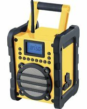 Radio de chantier FM, MP3 et Bluetooth® ''DOR-400''