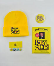 What About Bob, Baby Steps inspired gift set! Notebook badges & hat! Bill Murray