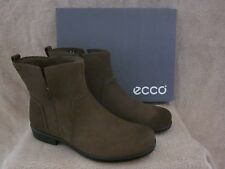ECCO Touch 25 B Mid Cut Suede Leather Ankle Boots Shoes US 8 - 8.5 M EUR 39 NWB