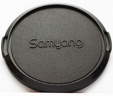 Original Samyang Front Lens Cap 72mm 72 mm Snap-on