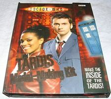 Doctor Who TARDIS Model-Making Kit BBC 2007 Excellant.