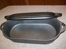 6 Quart Cast Iron Oval Fryer