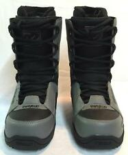 Thirty Two 32 Men's Exus Snowboard Boots Grey Black Size 8.5 NEW