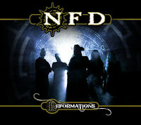 NFD 'Reformations' new 2013 CD album digipak sealed Goth rock Pink Floyd cover