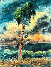 Un Rincon de Belgrano by Martin Malharro A1 High Quality Canvas Print