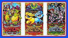 """5"""" Grateful Dead 3-way concert tour STICKER. 420 Jerry Bear For guitar or bong."""