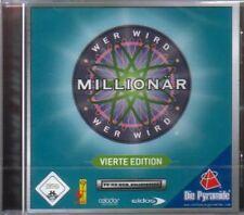 Wer wird MILLIONÄR 4 Edition Deutsch Top Zustand