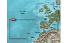 2017 Garmin BLUECHART g2 heu801x Europa NW ATLANTIC penisola iberica SD GPSMAP